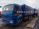 Скачать изображение Грузовые автомобили КАМАЗ 65115 зерновоз прицеп отдельно 35301042 в Барнауле