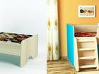 Свежее фото  Детская кровать двухъярусная, чердак 37720211 в Красноярске