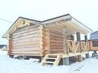 Фото в Купить дом Продажа коттеджей Продам недостроенный жилой дом в обжитом в Красноярске 1400000