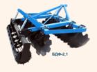 Уникальное фото Почвообрабатывающая техника Борона БДФ навесная, 2,1м 39021288 в Красноярске