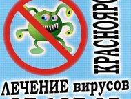 Удалениe компьютерных вирусoв в Красноярске Ноутбук поймал вирус? Компьютер стал