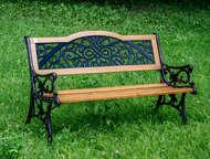 Скамейка садовая VG group Арабеска 01, 039, 0 Венецианский стиль скамейки станет
