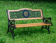 Скамейка садовая VG group Лилия 01, 036, 0 Дизайн скамейка Лилия выполнен в стил