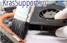 Чистка ноутбуков от пыли, Красноярск