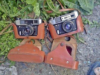 Просмотреть изображение  2 фотоаппарата фэд 5 33092595 в Красноярске