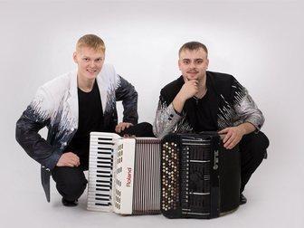 Уникальное фотографию  Дуэт BOOM, Живая музыка на Новый год, Корпоратив 34056545 в Красноярске