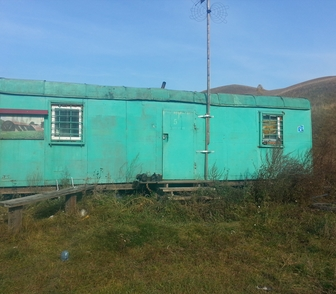 Изображение в Строительство и ремонт Разное Продам жилой 2-х комнатный вагончик в хорошем в Красноярске 120000