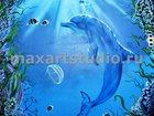 Изображение в   Студия MaxArt занимается художественной росписью в Москве 4000