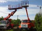 Новое фото  Аренда автовышки 12-28 м большая люлька-балкон 33139792 в Москве