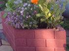 Просмотреть изображение Ландшафтный дизайн Вазон-цветочница Ромб ( полимер-песчаный) 34421814 в Кургане