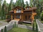 Увидеть изображение  Kleybrus, Проекты домов из клееного бруса, строительство домов из бруса под ключ, строительство из профильного бруса, клееный брус, 35630031 в Москве