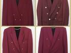 Скачать фото  Малиновый пиджак 90-х и другие вещи из 90х в аренду, на прокат 37524293 в Москве