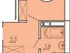 Новое фото  Однокомнатная квартира редкой планировки в Краснодаре район ЗИП 38701574 в Краснодаре