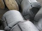 Смотреть фотографию  Провод стальной из стальных оцинкованных проволок по ГОСТ 3282-74 I группы 38970405 в Москве