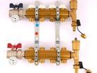Скачать фотографию  Коллекторная группа с кронштейнами, регулировочными и термостатическими вентилями TIEMME 1x3/4ЕК 4 выхода 80307632 в Кургане