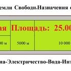 Аренда Земли Свободн, Назначения- от 1000м, (А-107, дер, Свитино)