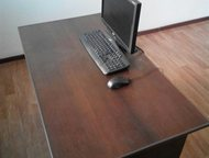 Стол б/у Продам 3 стола б/у (цвет на фото)  Ширина: 65см  Высота: 76см  Длина: 1