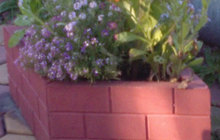Вазон-цветочница Ромб ( полимер-песчаный)