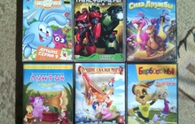 DVD диски с мультфильмами