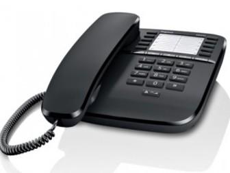Свежее изображение  Телефон проводной Gigaset DA510 (черный) 34656862 в Новосибирске