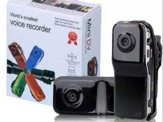 Новое изображение  Мини-видеокамера/диктофон Mini Dv 38478307 в Москве