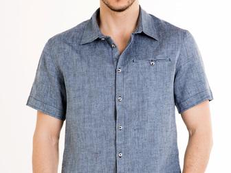 Смотреть foto  Мужские льняные рубашки оптом 39334677 в Москве