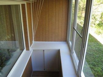 Увидеть фото  Остекление, ремонт и обустройство балкона под ключ 39341999 в Москве