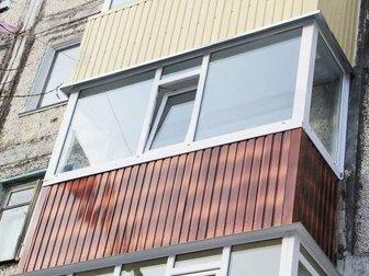 Смотреть фото  Остекление балконов под ключ, остекление лоджий 39342007 в Москве