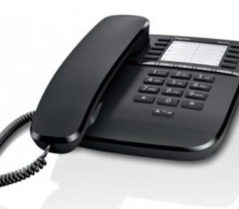Фотография в   Новый проводной телефон Gigaset DA510 с памятью в Новосибирске 1700