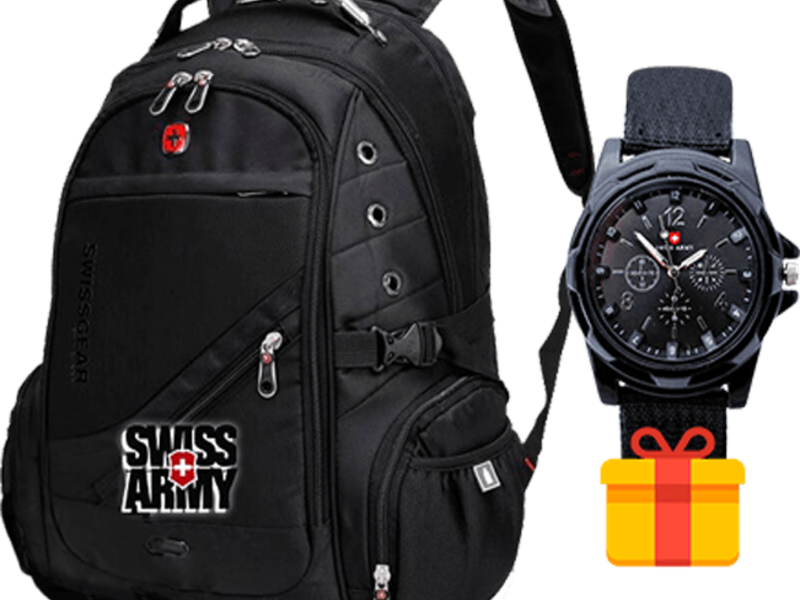 любимых духов, часы swiss army в подарок к рюкзаку брендовый парфюм