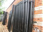 Фотография в Строительство и ремонт Строительные материалы Металлические столбы для забора высота 2м, в Куровском 200