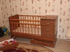 Изображение в  Отдам даром - приму в дар детская кроватка с матрасом в Липецке 0