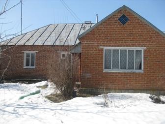 Скачать бесплатно foto  кирпичный дом 47, 6 кв, м, в хорошем состоянии, на участке 37 соток 38693121 в Липецке