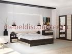 Фото в Мебель и интерьер Мебель для спальни Новый в упакковке с кровать 1600мм шкаф 1600 в Люберцы 9985