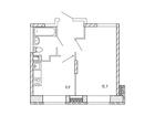 Продается 1-комн. кв-ра площадью 32,9 кв.м на 17 этаже 17 эт