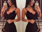 Скачать бесплатно фото Женская одежда Летний стиль Белых Черное кружевное платья 38954661 в Екатеринбурге