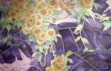 Платок шелковый Бразилия Батик