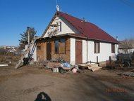 Строитель-4 дом-дача (80кв. м)земли6соток. дом из бруса отделан метеллосайдингом