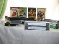 Видео кассеты Отдам даром. Видео кассеты 30шт. Художественные фильмы, обучение с