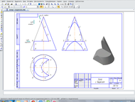Инженерная графика Инженерная графика и черчение.   Помощь в выполнении контроль
