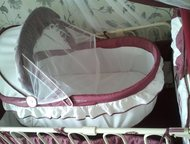 Детская кроватка Продаю детскую кроватку, в отличном состоянии. Имеется матрац,