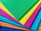 Цветной сотовый поликарбонат