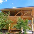 Предлагаем срубы домов, дач, бань из оцилиндрованного бревна