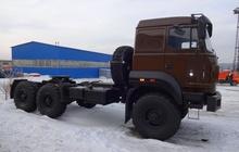 Седельный тягач бескапотник Урал спальное место, г/п 13 тн