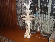 Продам фонтан с подсветкой Фаянсовый фонтан, с подсветкой, с успокаивающе приятн