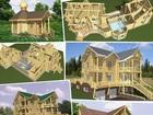 Скачать foto Коммерческая недвижимость Более 600 проектов дворцов, домов, бань и теремов из бревна, 44064702 в Мирном
