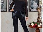Фото в Одежда и обувь, аксессуары Женская одежда Оригинальные черные брюки с декоративной в Москве 2100