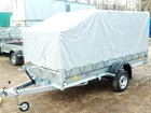 Смотреть изображение Прицепы для легковых авто Прицеп легковой 3,5х1,4м, Трейлер для перевозки квадроцикла, снегохода 34707583 в Москве