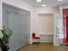 Фото в Строительство и ремонт Строительство домов Стеклянные перегородки и двери для офисных в Москве 7000