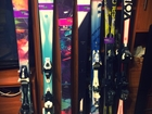 Фото в Отдых, путешествия, туризм Товары для туризма и отдыха Продаются новые горные лыжи по хорошим ценам. в Москве 11000